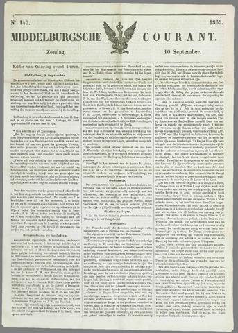 Middelburgsche Courant 1865-09-10