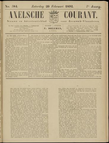 Axelsche Courant 1892-02-20