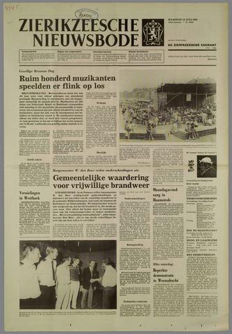 Zierikzeesche Nieuwsbode 1983-07-11