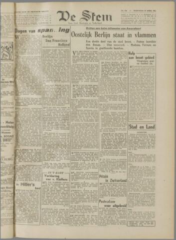 de Stem 1945-04-25
