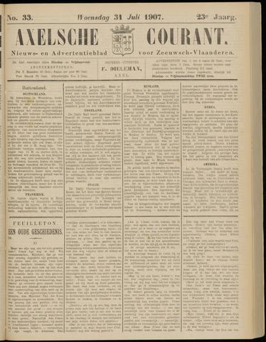 Axelsche Courant 1907-07-31