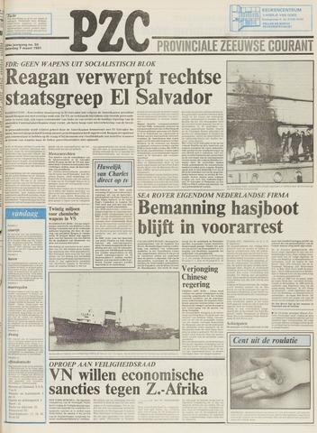 Provinciale Zeeuwse Courant 1981-03-07