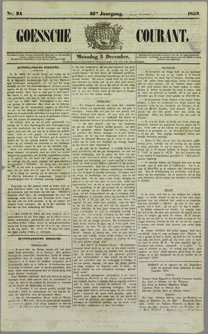 Goessche Courant 1859-12-05