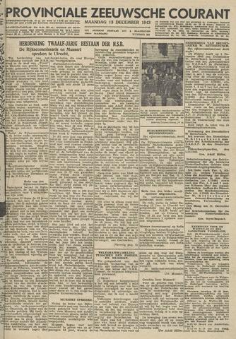 Provinciale Zeeuwse Courant 1943-12-13