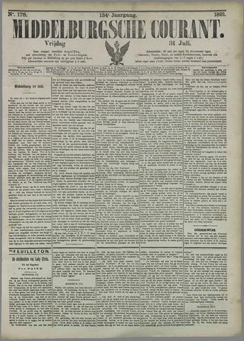 Middelburgsche Courant 1891-07-31