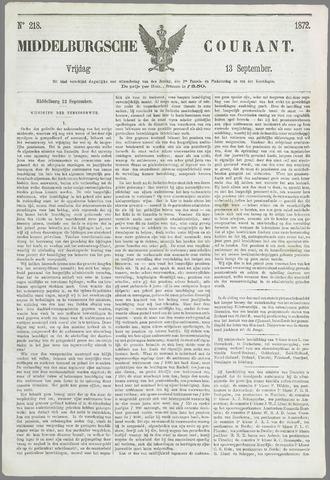 Middelburgsche Courant 1872-09-13