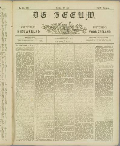 De Zeeuw. Christelijk-historisch nieuwsblad voor Zeeland 1895-07-27