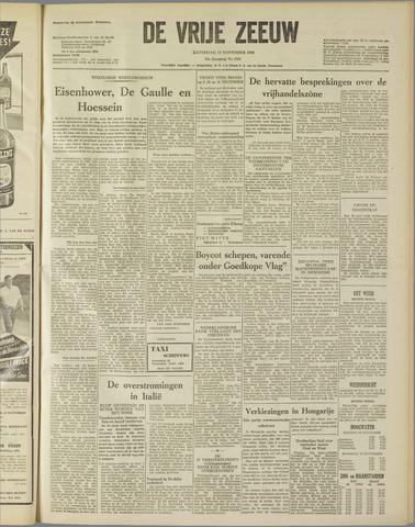 de Vrije Zeeuw 1958-11-15