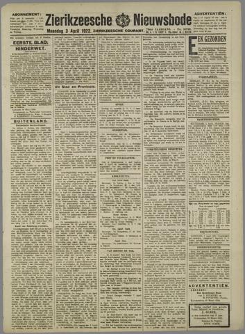 Zierikzeesche Nieuwsbode 1922-04-03