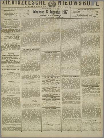 Zierikzeesche Nieuwsbode 1917-08-06