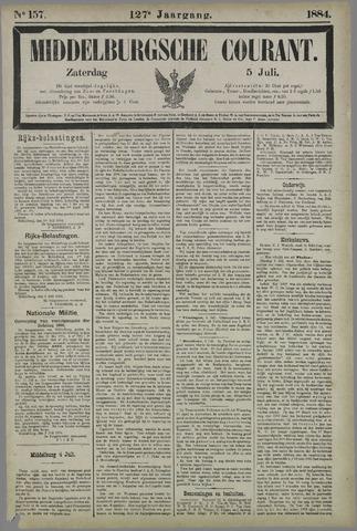 Middelburgsche Courant 1884-07-05