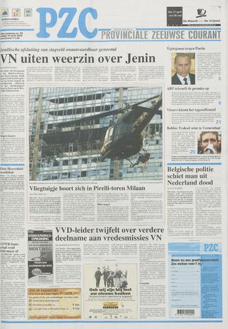 Provinciale Zeeuwse Courant 2002-04-19