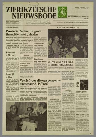 Zierikzeesche Nieuwsbode 1976-10-04