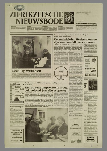 Zierikzeesche Nieuwsbode 1987-12-04