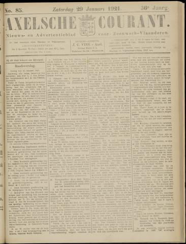 Axelsche Courant 1921-01-29