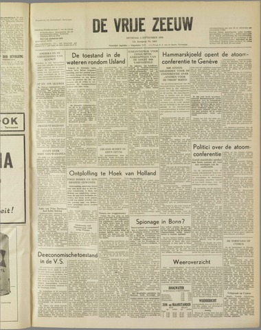 de Vrije Zeeuw 1958-09-02