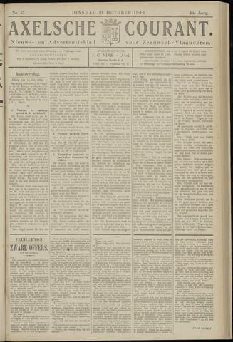 Axelsche Courant 1924-10-21