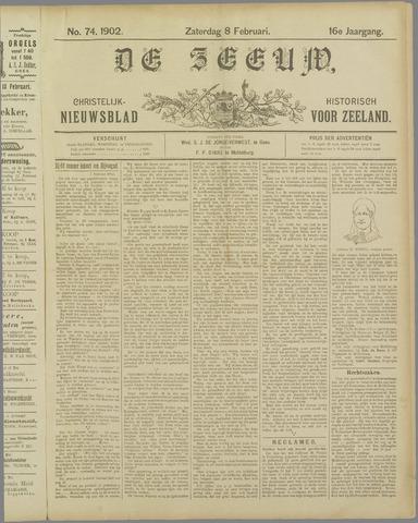 De Zeeuw. Christelijk-historisch nieuwsblad voor Zeeland 1902-02-08