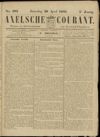 Axelsche Courant 1889-04-20