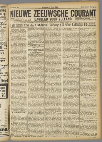 Nieuwe Zeeuwsche Courant 1923-05-07
