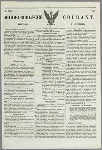 Middelburgsche Courant 1871-12-09