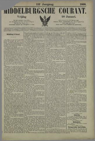 Middelburgsche Courant 1888-01-20