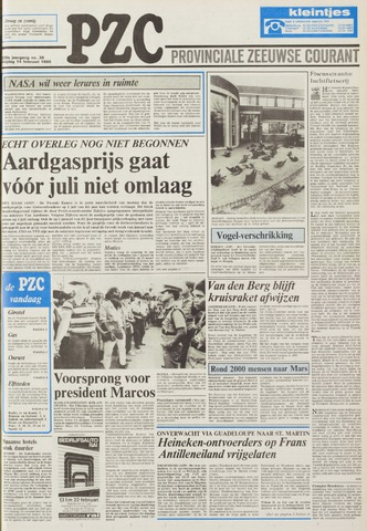 Provinciale Zeeuwse Courant 1986-02-14