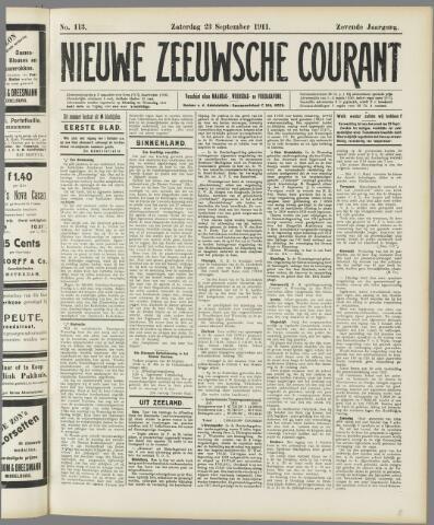 Nieuwe Zeeuwsche Courant 1911-09-23