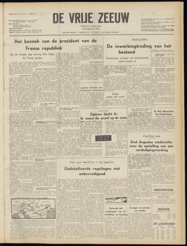 de Vrije Zeeuw 1954-07-23