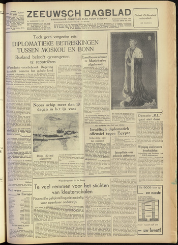 Zeeuwsch Dagblad 1955-09-14
