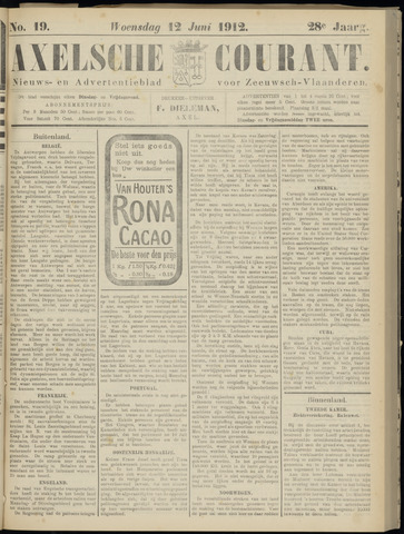 Axelsche Courant 1912-06-12