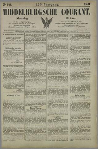 Middelburgsche Courant 1883-06-18