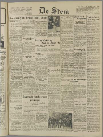 de Stem 1948-02-27