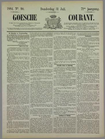 Goessche Courant 1884-07-31