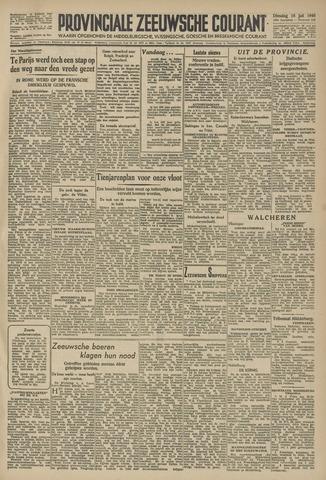 Provinciale Zeeuwse Courant 1946-07-16