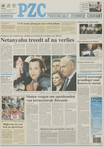 Provinciale Zeeuwse Courant 1999-05-18