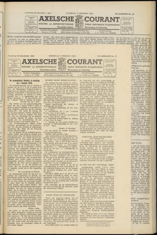 Axelsche Courant 1949-02-09