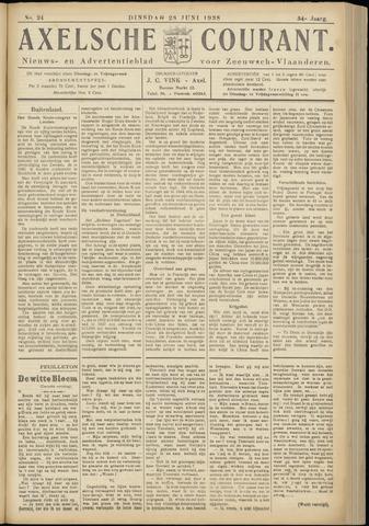 Axelsche Courant 1938-06-28