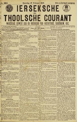 Ierseksche en Thoolsche Courant 1917-02-17