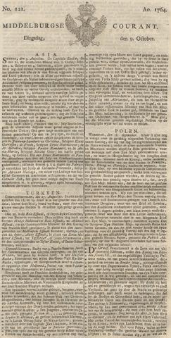 Middelburgsche Courant 1764-10-09