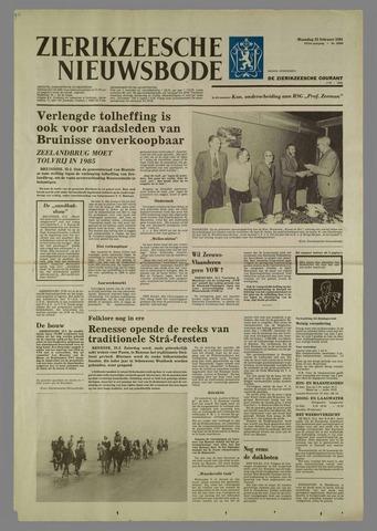 Zierikzeesche Nieuwsbode 1981-02-23