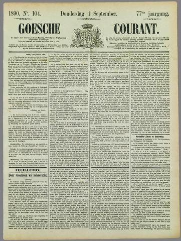 Goessche Courant 1890-09-04