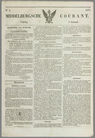 Middelburgsche Courant 1871-01-06