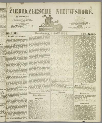 Zierikzeesche Nieuwsbode 1854-07-06