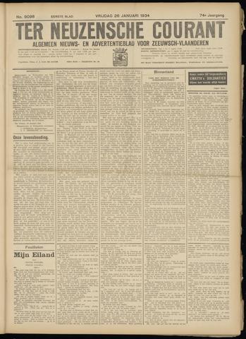 Ter Neuzensche Courant. Algemeen Nieuws- en Advertentieblad voor Zeeuwsch-Vlaanderen / Neuzensche Courant ... (idem) / (Algemeen) nieuws en advertentieblad voor Zeeuwsch-Vlaanderen 1934-01-26