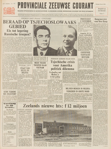 Provinciale Zeeuwse Courant 1968-07-23