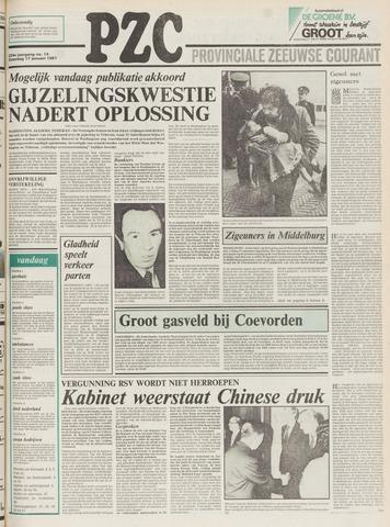 Provinciale Zeeuwse Courant 1981-01-17