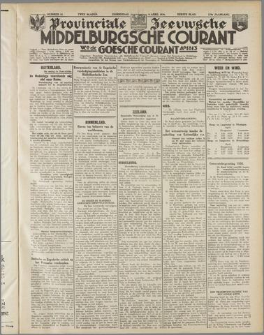 Middelburgsche Courant 1936-04-09