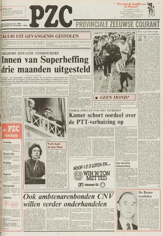 Provinciale Zeeuwse Courant 1984-11-14