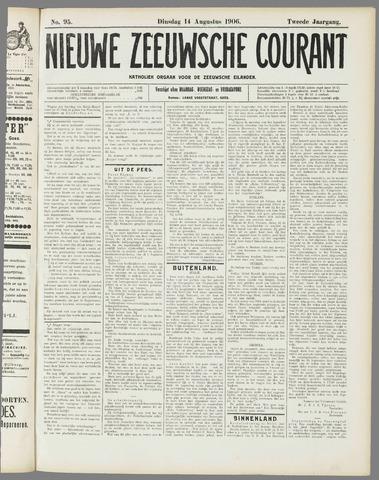Nieuwe Zeeuwsche Courant 1906-08-14